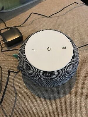 SNOOZ White Noise Sound Machine Real Fan Inside Control via iOS and Android App