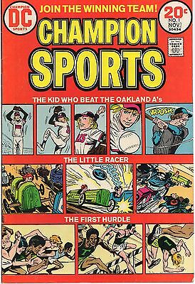 CHAMPION SPORTS #1 DC 1973 F Oakland A's