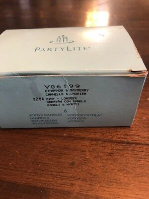 Partylite V06199 Cinnamon And Bayberry Votives