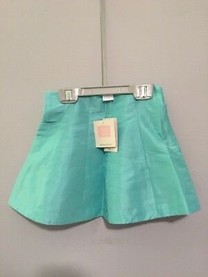 NWT Janie and Jack High Tea Holiday Tiffany Robins Egg Blue Skirt Size 2T