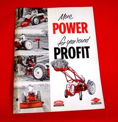 Ford Tractor Power Sales Brochure