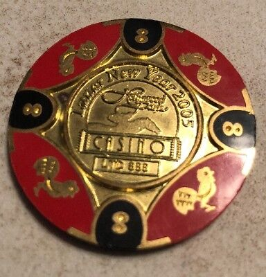 Hollywood Park Casino $8 Casino Chip Inglewood Ca 2.99 Shipping