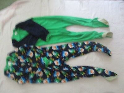 Lot of 2 boys Gerber footed pajamas size 5T