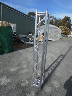 NBS Aluminium Square Lattice Tower Mast section 3 M combines with others
