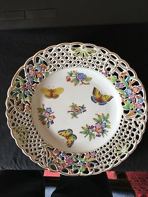 Herend Hungarian Porcelain Hand Made Plate Hungary