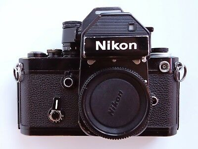 NIKON F2AS SLR Camera with DP-2 Finder