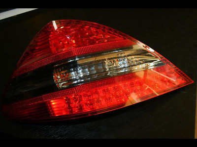 Hella, Mercedes SL R230 AMG LED Rückleuchten Set schwarz-rot Mopf, SET re u li