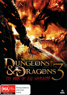 Dungeons & Dragons 3: The Book of Vile Darkness  - DVD - NEW Region 4