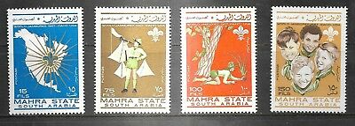 Southern Arabia 1967 Mint Stamps