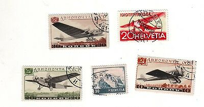 Old Europe *  Flights   Air Mail Used == 5 ==