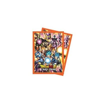 PROTECTION CARTES - Ultra Pro Super Dragon Ball Card Game - Sleeves x65 (3)