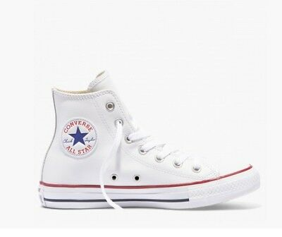 Converse Chuck Taylor All Star Leather High Top, Women's Size 6 / Men's size 4