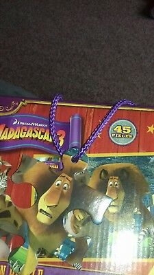 madagascar puzzle 45 pieces  age 5 to 6