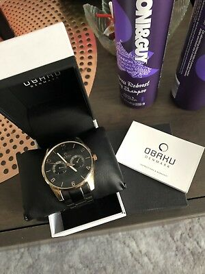 Obaku Watch, Rosefield Watch Bulk Lot RRP $500+