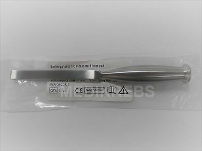 "Smith Peterson Osteotome 11 mm CVD Surgical Instrument German Steel ""KREBS"""