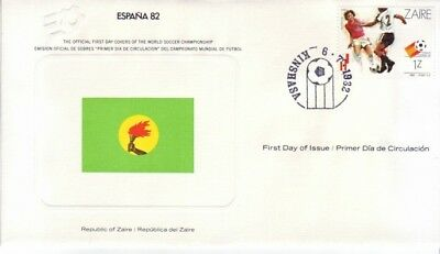 Zaire - World Cup Soccer, Spain '82 (FDC) 1982