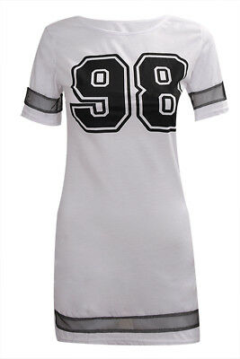 White Stylish Women Casual Summer Dresses Number 98 Printed Hollow Out Gauz N2Q7