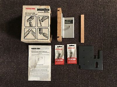 Porter Cable 5009  Morten  Jig in Box, w/Instructions & Bits