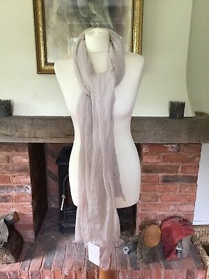 NEW WITH TAGS The White Company Crinkle Wool Scarf