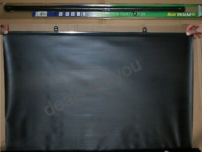Car Rear Window Car Sun Shield shade BLACK blind Universal Type 90cm