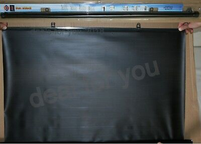 Car Rear Window Car Sun Shield shade BLACK blind Universal Type 110cm