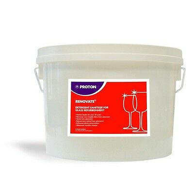 Proton Renovate Glass Residue Renovation Powder 2.5Kg Tub Industrial Catering