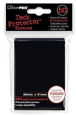 Ultra Pro Deck Protector Sleeves 50 pcs Black