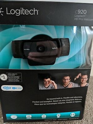 Logitech C920 HD Pro Webcam 1080p 15mp