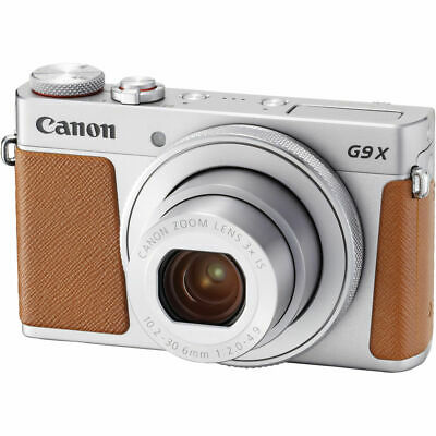 Canon PowerShot G9 X Mark II  20.1MP Digital Camera with WiFi(Silver)-Great Deal