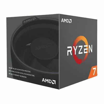 AMD Ryzen 7 2700 3.2GHz 8-Core AM4 Boxed Processor with Wraith Spire Cooler