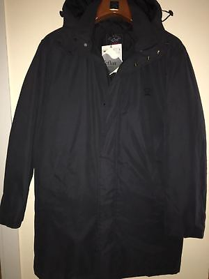 NEW Paul & Shark Yachting Jacket Giacca Coat BLACK L ( like XL )