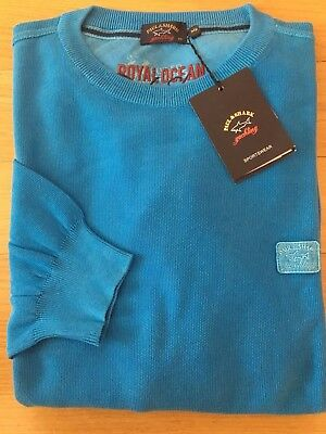 NEW Paul & Shark Yachting Sweater Pullover 2XL XXL CAPRI Collection Cotton