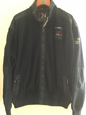NEW Paul & Shark Yachting Jacket Blusotto Pile Navy Blue 4XL