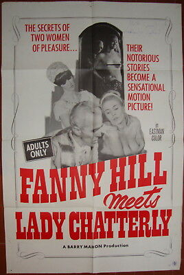 Fanny Hill Meets Lady Chatterley-Barry Mahon-Sexploitation-OS (27x41 inch)