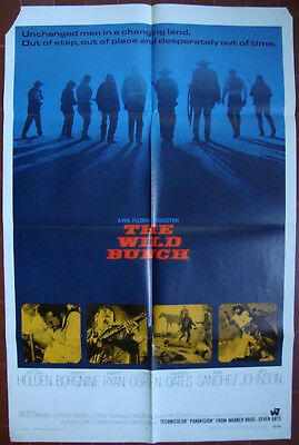 The Wild Bunch –Western-Sam Peckinpah-W.Holden-R.Ryan-OS Foreign (27x41 inch)