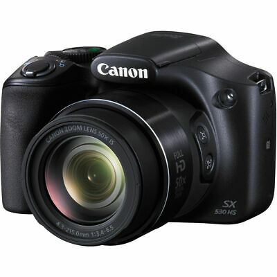 Canon PowerShot SX530 HS Digital Camera 50x Optical Zoom Lens Full HD Video