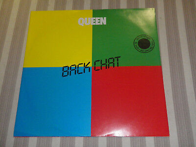 "QUEEN: Back Chat/ Staying Power, EMI, 1A 052Z-64851, EEC, 12""/ MAXI, MINT, RARE!"