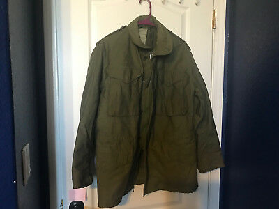 NWOTs Vintage OG- 107 Cold Weather Field Jacket w/ Hidden Zip Hood Small Regular