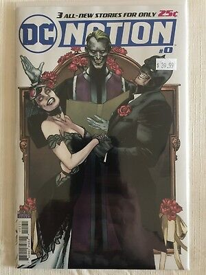 Dc Nation #0 Batman Catwoman Joker Wedding 1:250 Variant Dc Comics Nm