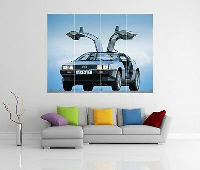Delorean Back To The Future Giant Wall Art Picture Print Poster G111