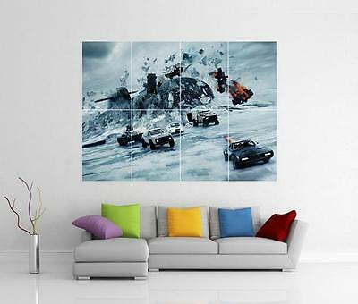 The Fast And The Furious 8 Fate Xl Giant Wall Art Picture Photo Print Poster