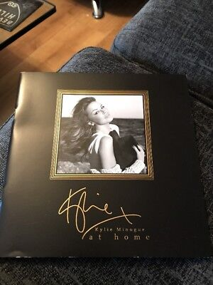 Kylie at Home Brochure 2017 Rare Kylie At Home LAST ONE Golden