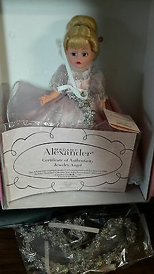 "Madame Alexander 10"" Cissette Jewelry Angel Doll 2002  limited edi.# 219 /750"