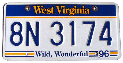 New York EMPIRE STATE GOLD License Plate NY SIGN (RANDOM PLATE#)