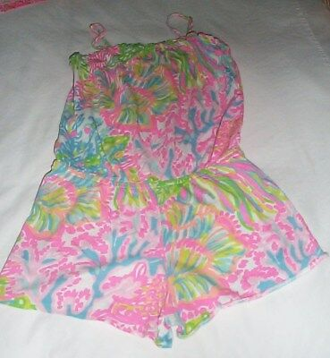 Lilly Pulitzer girls Romper Size 8-10