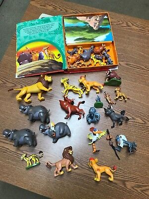 Huge lot of Disney lion guard action figures lair playset busy book board game