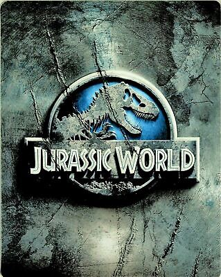 Jurassic World - Limited Edition Steelbook [Blu-ray] New and Sealed!!