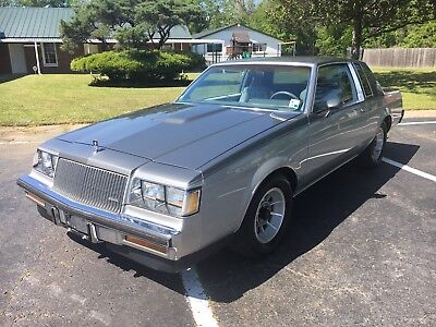 1987 Buick Grand National Turbo T 1987 Buick Turbo T