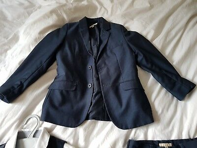 boys navy blue wrdding suit age 7 John Lewis, M&S