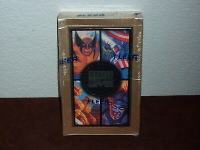 Fleer Marvel Masterpieces 1994 Edtion